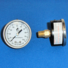 0-100PSI Liquid Filled Back Mount Gauge