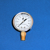 0-100PSI Liquid Filled Bottom Mount Gauge