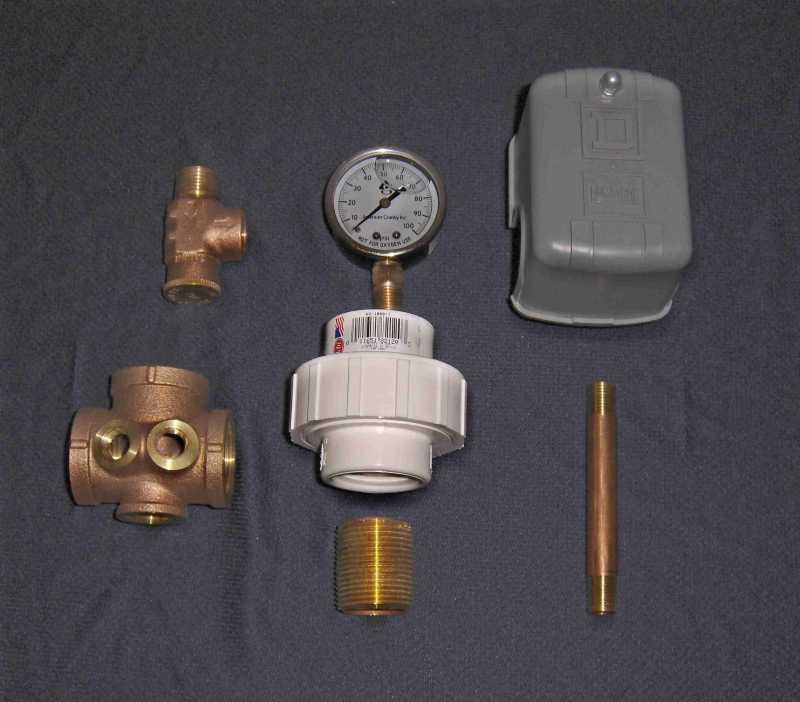 Flexcon Fiberglass Pressure Tank T Kit