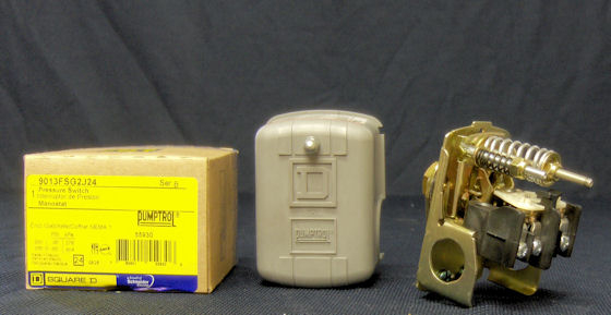 Square D 30  50 Pump Pressure Switch