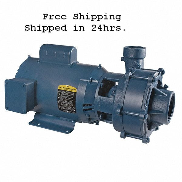 F Amp W 1ph 5hp 2 Stage C22251 Pump