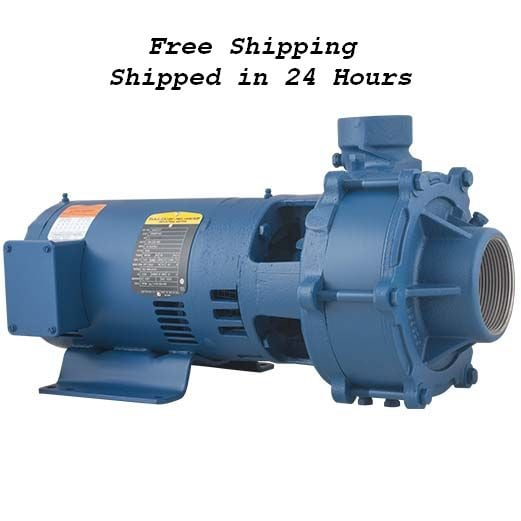 Flint And Walling 3ph 3hp 2 Stage C22233 Pump