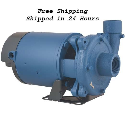 F&W CJ103101PC 1PH 1HP Powder Coated Centrifugal Pump