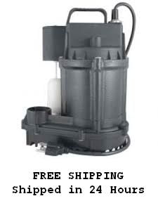 F&W 5SE Cast Iron Sump Pump