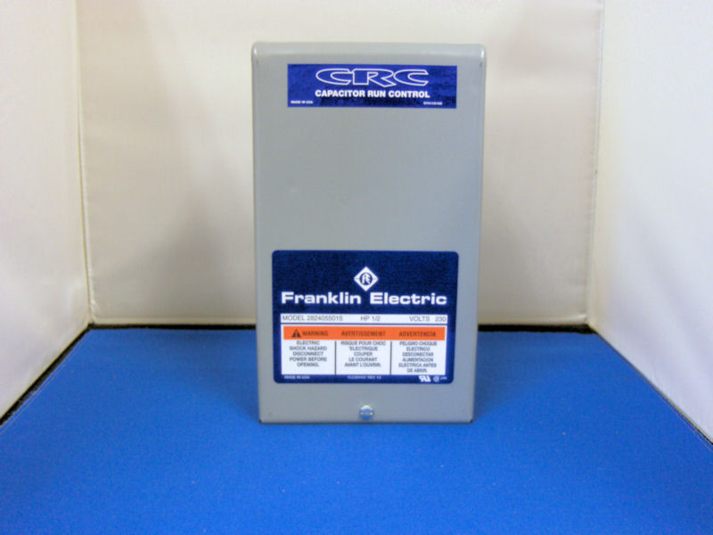 Franklin 1  2hp 230v Crc Control Box