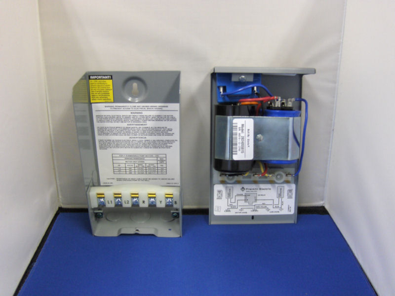 franklin electric 3 4hp 230v crc control box rh wwpp co