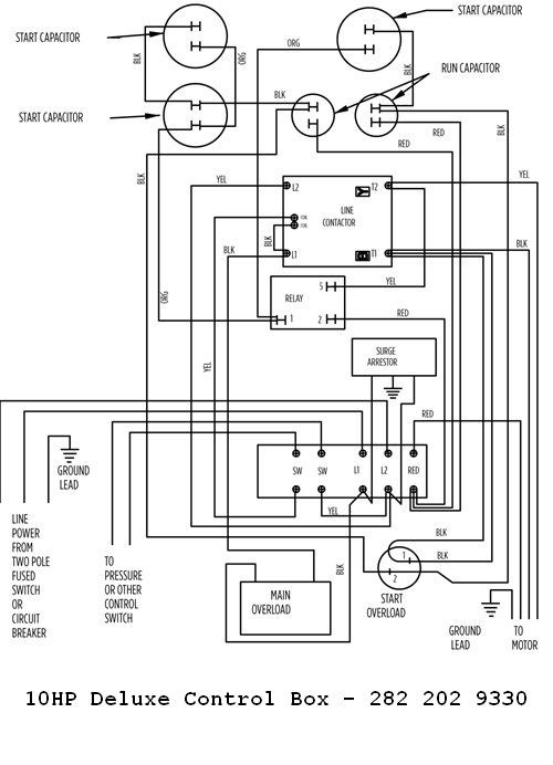franklin electric control box wiring diagram electrical wiring Water Pump Pressure Switch Wiring Diagram