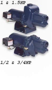 1/2HP FVJ05CI VersaJet Jet Pump & Parts