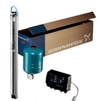 Grundfos 22SQE10-160 22GPM 1HP 230V SmartFlo Constant Pressure System