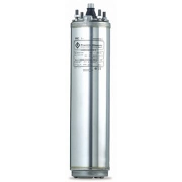 "3PH 3HP 230V Series 600 (Fountain) 4"" Sub. Motor"