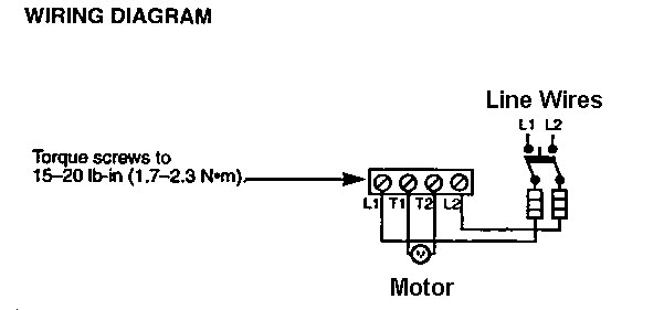 wiring a water pump pressure switch